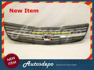 00 05 04 03 02 01 CHEVY IMPALA CHROME GRAY GRILL GRILLE