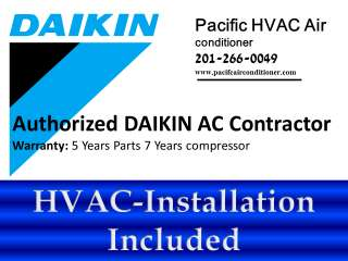 DAIKIN VRV III S Ductless Mini split heat pump, Heating & AC multi