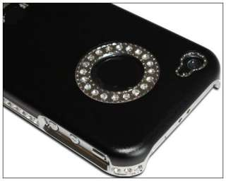 Silver Luxury Bling Diamond Case Cover for iPhone 4 4G 4S stylus