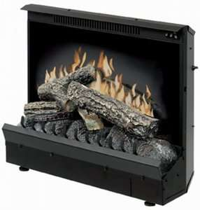 Dimplex Electric Fireplace Insert Space Heater Winter Room Warm w/ RC