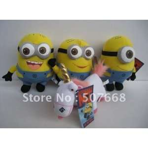 whole   new arrival despicable me plush minion 9 plush