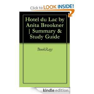 Hotel du Lac by Anita Brookner  Summary & Study Guide BookRags