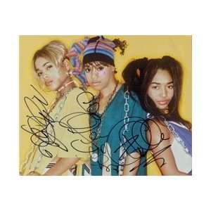 TLC (Rozanda Thomas / Lisa Lopes / Tionne Watkins) Autographed/Hand