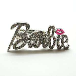 Nicki Minaj Barbie Ring(silver/clear)