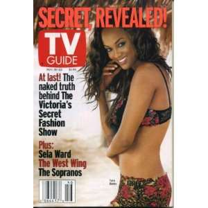 16, 2002 Tyra Banks Cover, Victorias Secret Fashion Show, Sela Ward