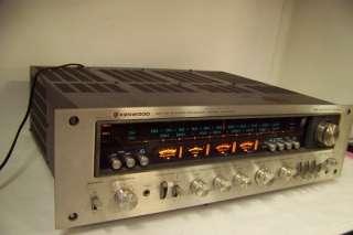 Wa Dual Power Supply Kenwood Sereo Receiver Model KR 9600 |
