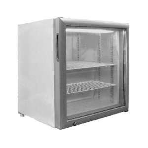 Metalfrio 1.8 cubic foot glass door countertop ice cream