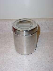 Stainless Steel Medical Jars