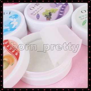 Flavor New Nail Art Polish Remover Pads x 32 Wet Paper