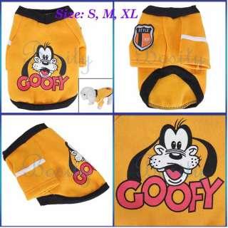 Pet Dog Coat Apparel Clothes Sport Sweater Shirt All Sz
