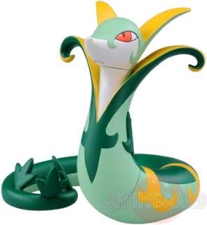 Pokemon Black White SERPERIOR 6 Soft Vinyl Figure Toy Sofubi Jalorda