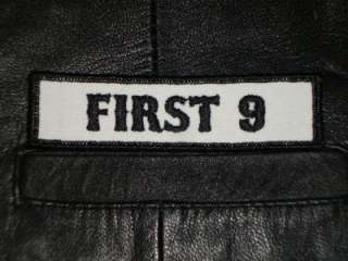 FIRST 9   MOTORCYCLE ANARCHY SONS OF BIKER PATCH BW