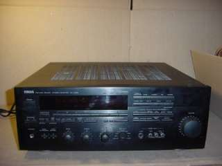 YAMAHA MODEL RX V990 NATURAL SOUND STEREO RECEIVER. WORKS GREAT AND