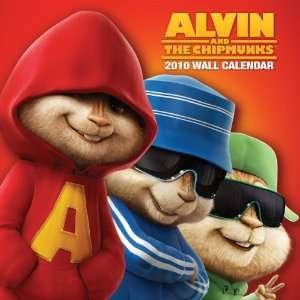 Alvin and the Chipmunks: The Squeakquel Wall Calendar