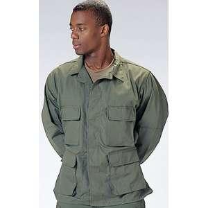OLIVE DRAB Military Army Style BDU Uniform SHIRT
