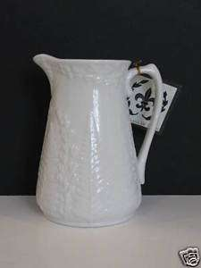 Porcellana De Paris Pitcher by Home Essentials NEW