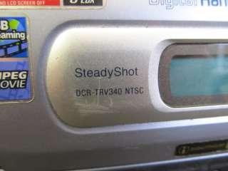 Sony Digital HandyCam DCR TRV340 700x Zoom Ghost Hunter Camcorder 8mm