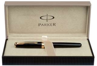 38538 Parker Sonnet Sterling Silver Cisele GT Ball Pen