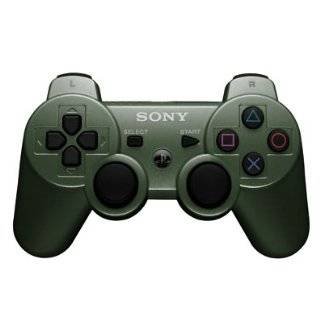 Sony PS3 Jungle Green DualShock Multi Mode Turbo Action Rapid Fire Gun