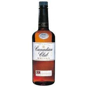 Canadian Club Whisky 80@ 1 Liter Grocery & Gourmet Food